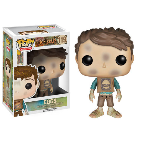 MOVIES - BOXTROLLS EGGS #119 - FUNKO POP!