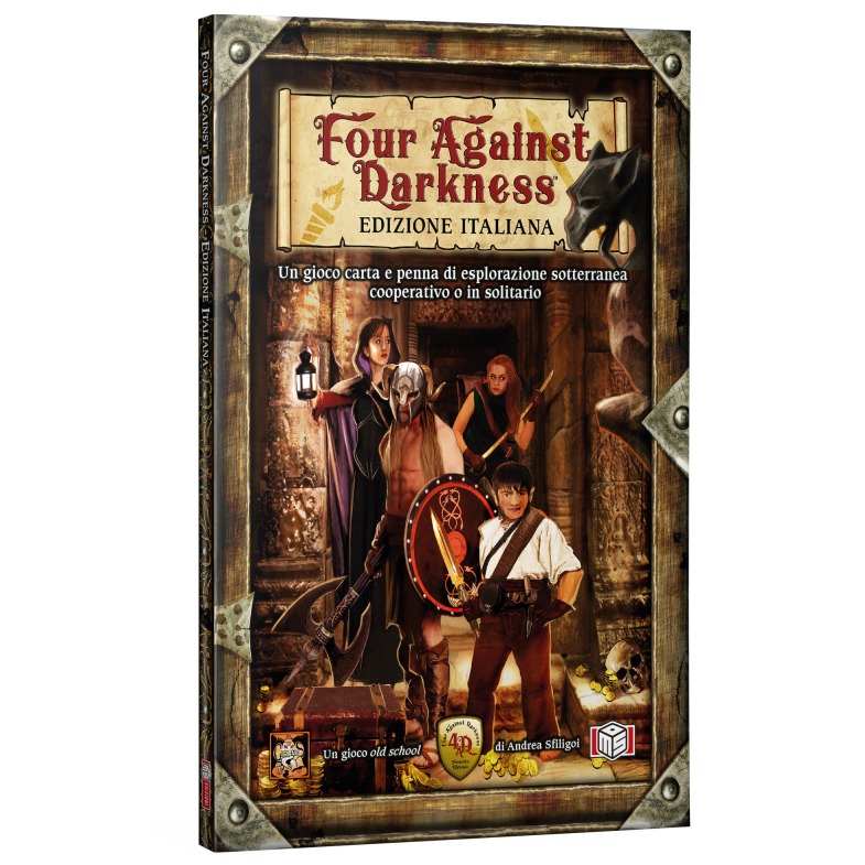 FOUR AGAINST DARKNESS - EDIZIONE ITALIANA - MANUALE BASE