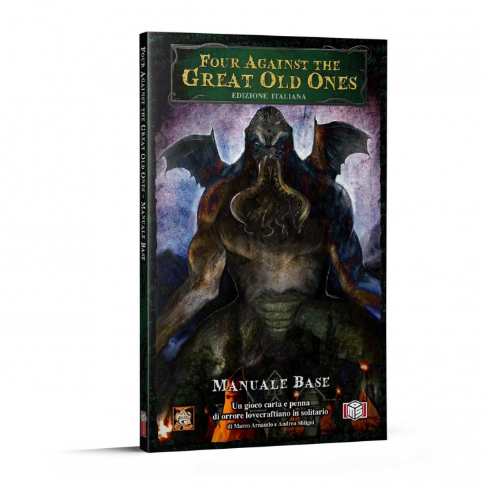 FOUR AGAINST THE GREAT OLD ONES - EDIZIONE ITALIANA - MANUALE BASE