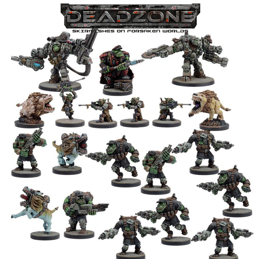 DEADZONE 2 - MARAUDER - FACTION STARTER