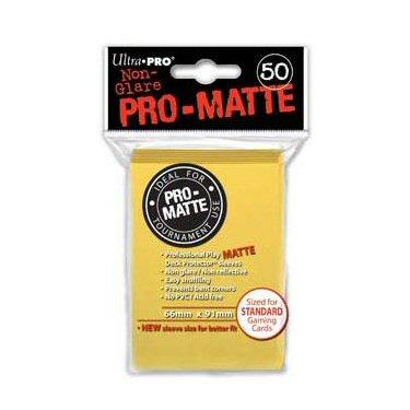 50 BUSTINE PRO MATTE - YELLOW OPACO