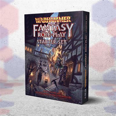 WARHAMMER FANTASY ROLEPLAY - STARTER SET IN ITALIANO