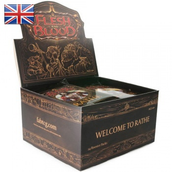 FLESH & BLOOD TCG: WELCOME TO RATHE HERO UNLIMITED - BOX 24 BUSTE ING