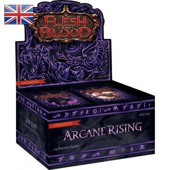 FLESH & BLOOD TCG: ARCANE RISING UNLIMITED - BOX 24 BUSTE ING