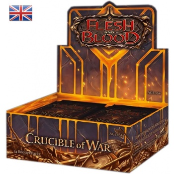 FLESH & BLOOD TCG: CRUCIBLE OF WAR UNLIMITED - BOX 24 BUSTE ING