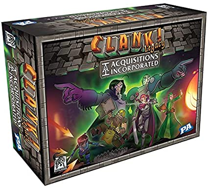 CLANK! LEGACY: ACQUISITIONS INCORPORATE