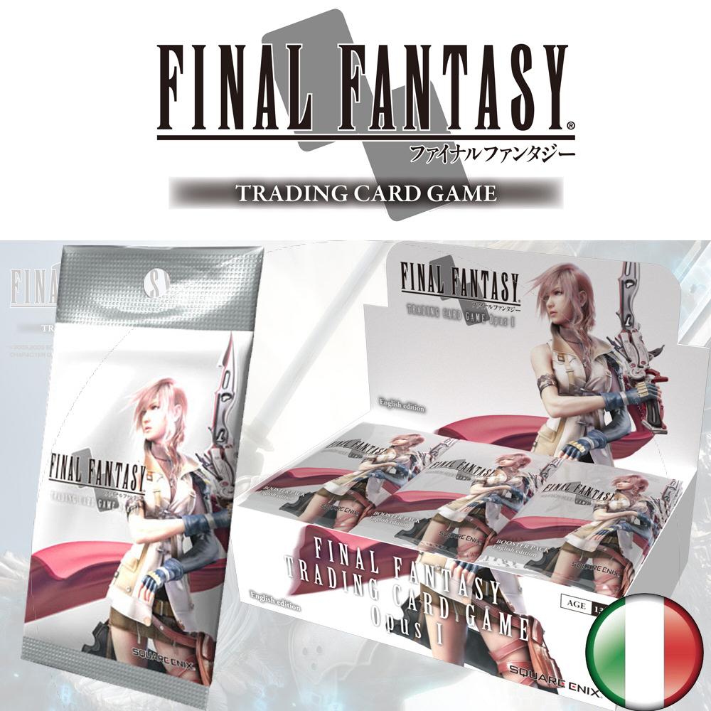 FFTCG OPUS 1 FINAL FANTASY BOX 36 BUSTE ITA