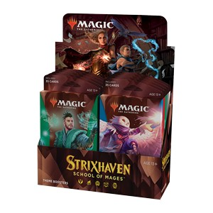 STRIXHAVEN: SCHOOL OF MAGIC - BOX 12 THEME BOOSTER INGLESE