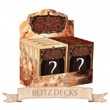 FLESH & BLOOD TCG: MONARCH BLITZ DECKS - BOX 8 MAZZI ING