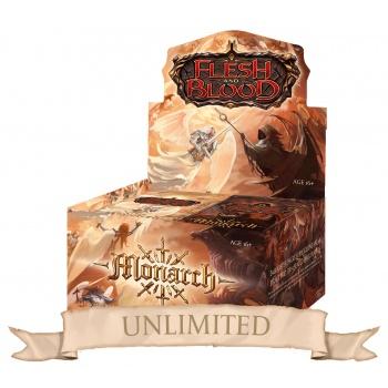 FLESH & BLOOD TCG: MONARCH UNLIMITED - BOX 24 BUSTE ING