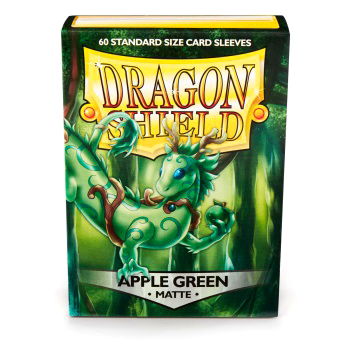 DRAGON SHIELD BUSTE PROTETTIVE STANDARD - MATTE - APPLE GREEN (60)