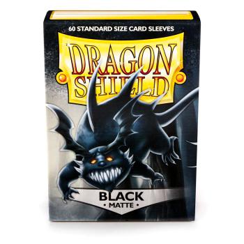 DRAGON SHIELD BUSTE PROTETTIVE STANDARD - MATTE - BLACK (60)