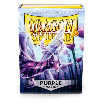 DRAGON SHIELD BUSTE PROTETTIVE STANDARD - MATTE - PURPLE (60)