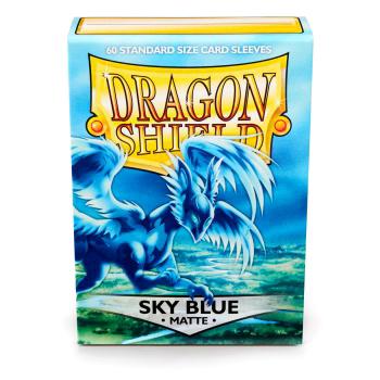 DRAGON SHIELD BUSTE PROTETTIVE STANDARD - MATTE - SKY BLUE (60)