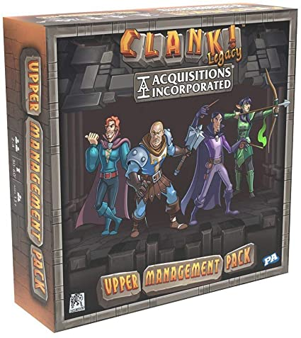 CLANK! LEGACY: ACQUISITIONS INCORPORATE - UPPER MANAGEMENT PACK