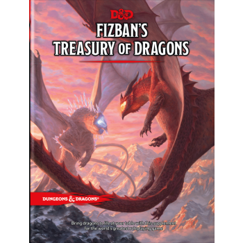 DUNGEONS & DRAGONS 5A EDIZIONE - FIZBAN'S TREASURY OF DRAGONS
