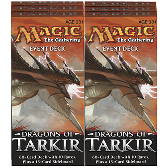 DRAGHI DI TARKIR - EVENT DECK (BOX 6 PZ) - INGLESE