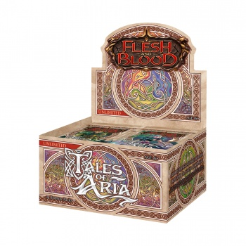 FLESH & BLOOD TCG: TALES OF ARIA UNLIMITED - BOX 24 BUSTE ING