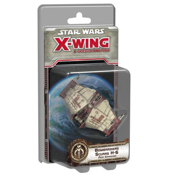 STAR WARS X-WING: IL GIOCO DI MINIATURE - BOMBARDIERE SCURRG H6