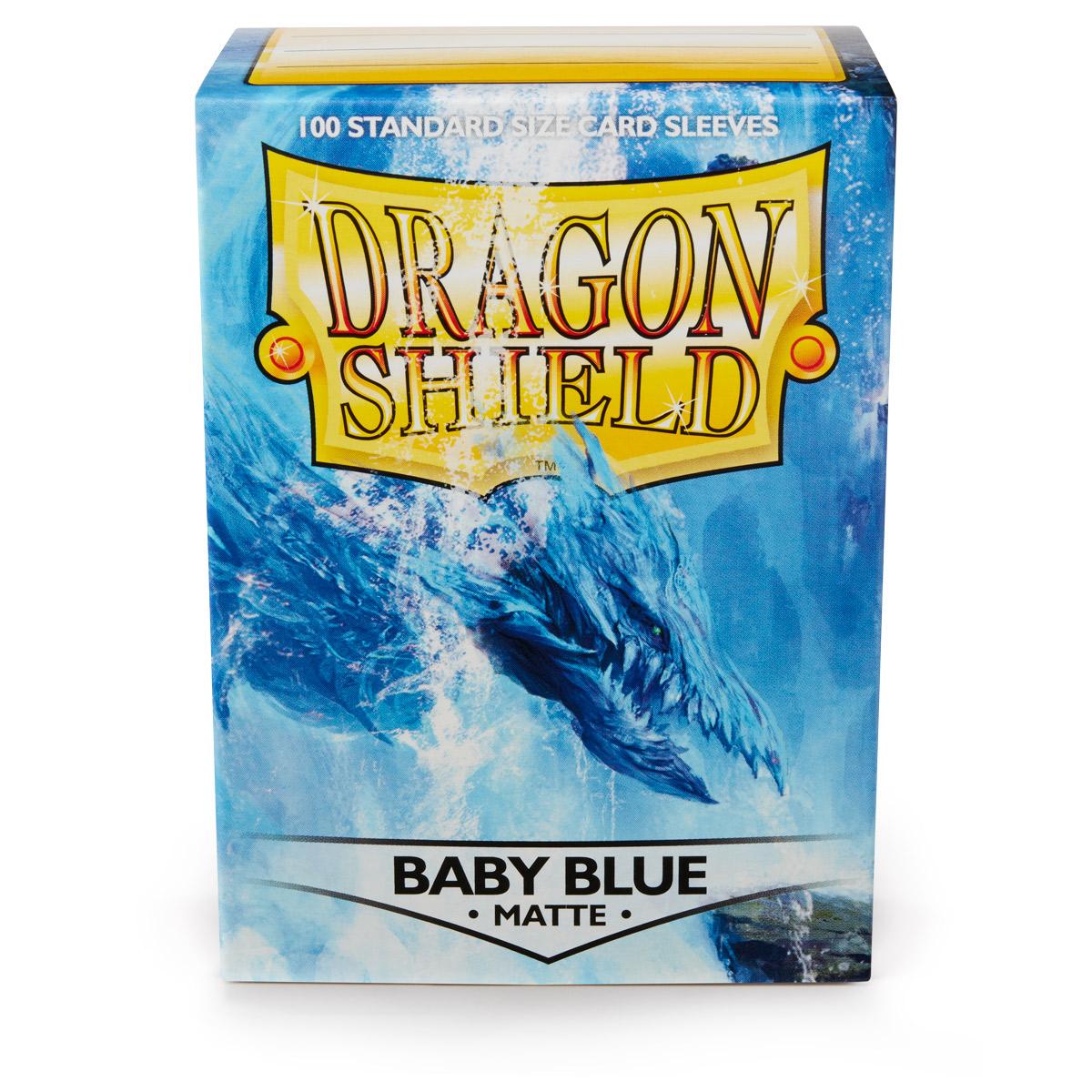BUSTE PROTETTIVE STANDARD DA 100 - MATTE BABY BLUE