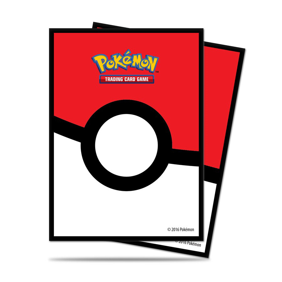 E-85120 POKE BALL DECK PROTECTOR SLEEVES FOR POKEMON 65PZ