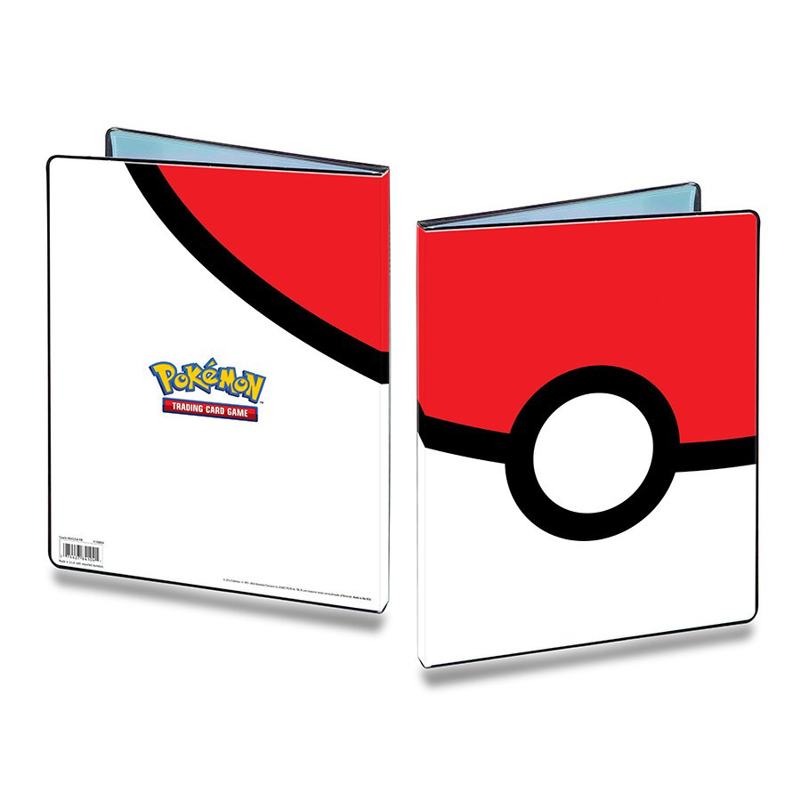 E-85248-P POKE BALL 9-POCKET PORTFOLIO FOR POKEMON