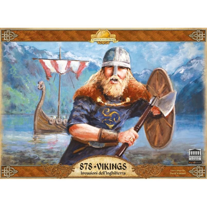 878 - VIKINGS: INVASIONI DALL'INGHILTERRA