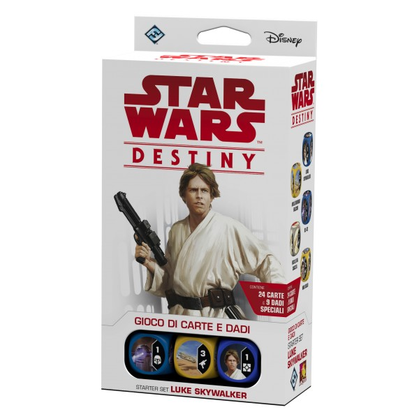 STAR WARS: DESTINY - STARTER SET LUKE SKYWALKER