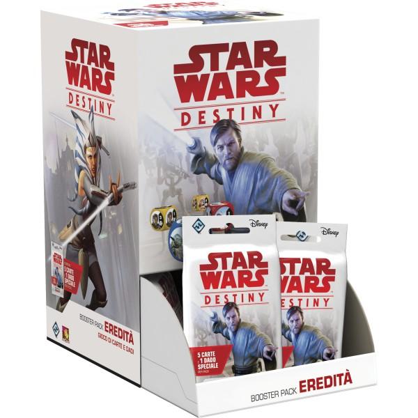 STAR WARS: DESTINY - BOOSTER PACK EREDITA' (BOX 36 PZ)