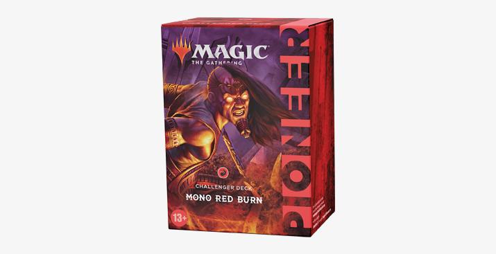PIONEER CHALLENGER DECKS 2021 - MONO RED BURN - INGLESE