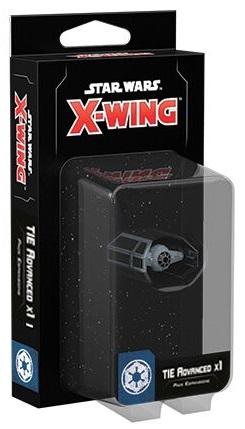 STAR WARS X-WING TIE ADVANCED X1 SECONDA ED.