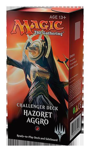 CHALLENGER DECKS HAZORET AGGRO - 1 MAZZO - INGLESE