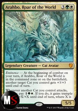 AYRAHBO, RUGGITO DEL MONDO - FOIL OVERSIZE NOT FOR PLAY
