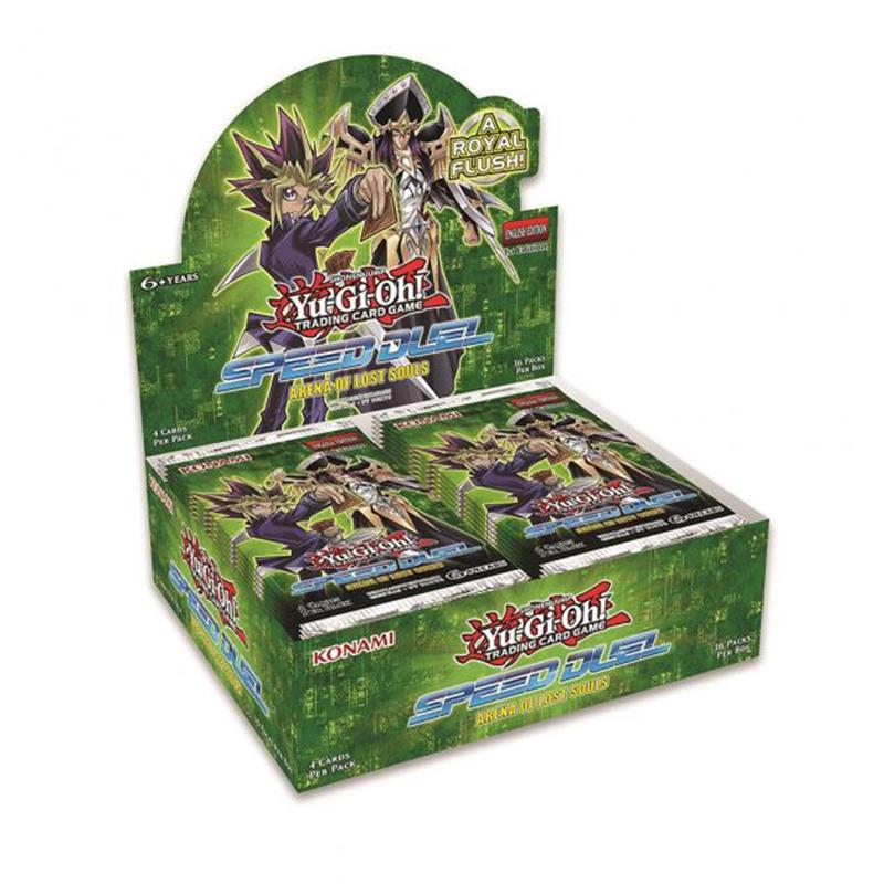SPEED DUEL BOOSTER - ARENA DELLE ANIME PERDUTE - BOX 36 BUSTE ITA