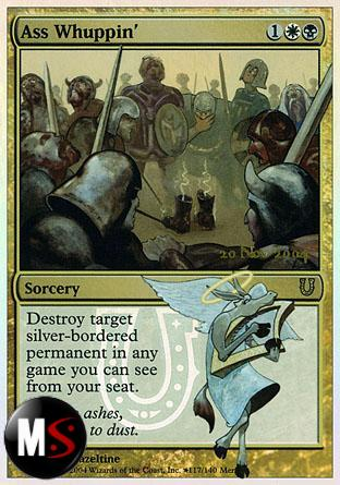ASS WHUPPIN' (UNHINGED PRERELEASE)
