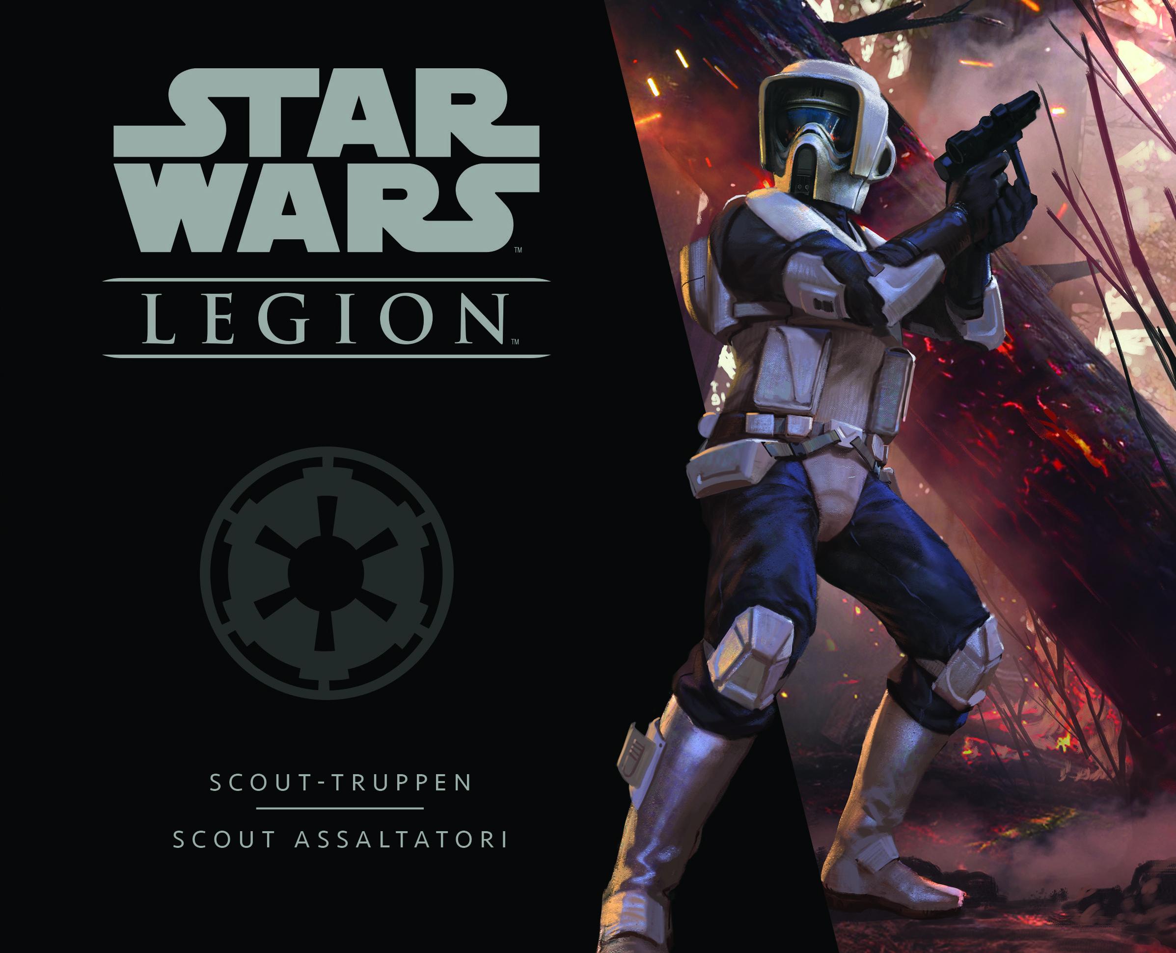 STAR WARS: LEGION - SCOUT ASSALTATORI - ESPANSIONE