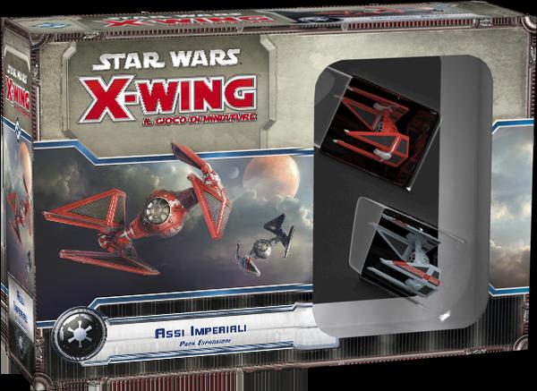 STAR WARS X-WING: IL GIOCO DI MINIATURE - ASSI IMPERIALI