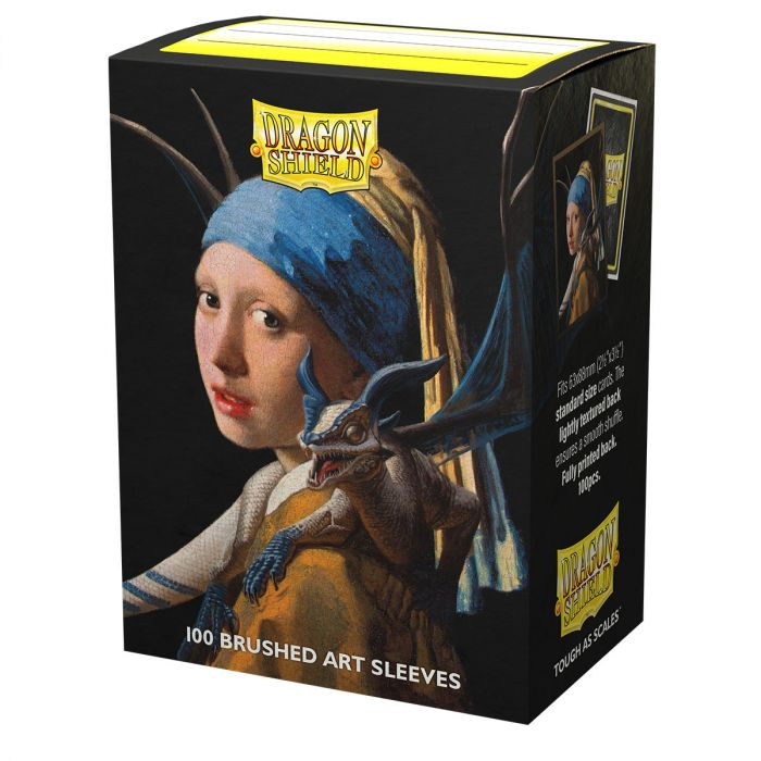 DS100 SLEEVES STANDARD BRUSHED ART - GIRL WITH A PEARL EARRING