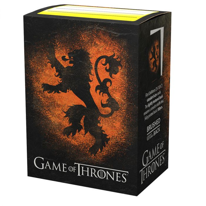 DS100 SLEEVES STANDARD - GAME OF THRONES - HOUSE LANNISTER
