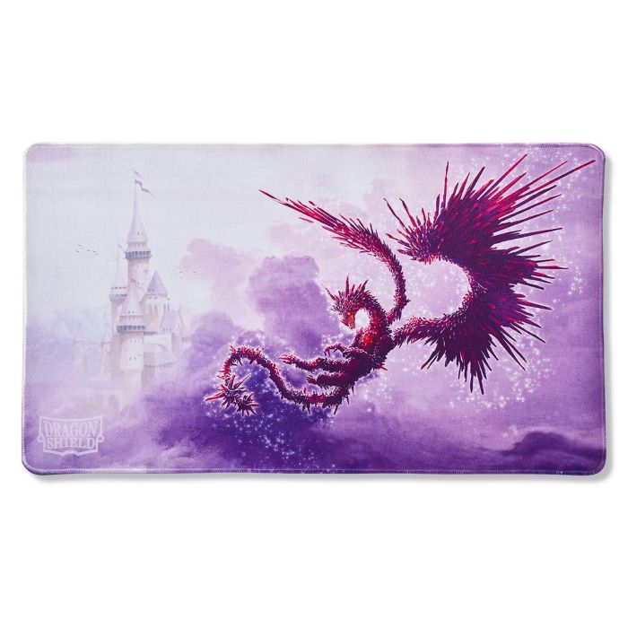 DRAGON SHIELD PLAYMAT - RACAN CLEAR PURPLE