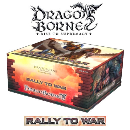 DRAGOBORNE - VOL1 - RALLY TO WAR - BOX 20 BUSTE - INGLESE