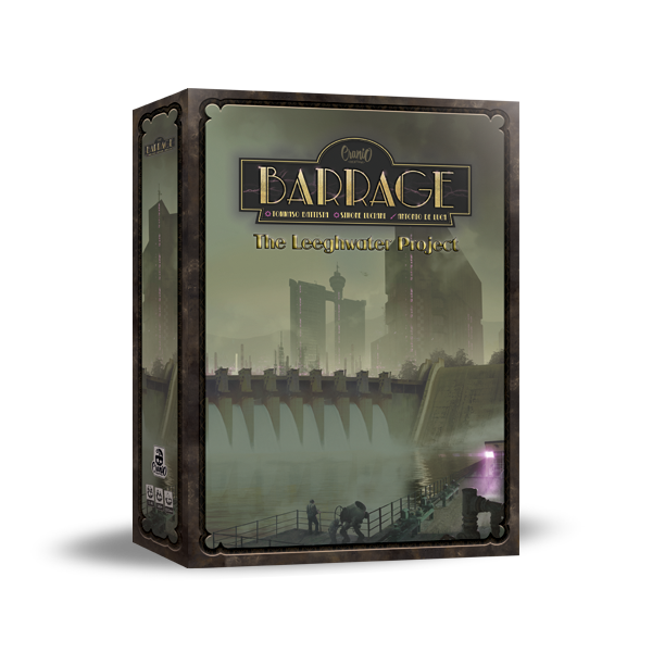BARRAGE: THE LEEGHWATER PROJECT - ITALIANO
