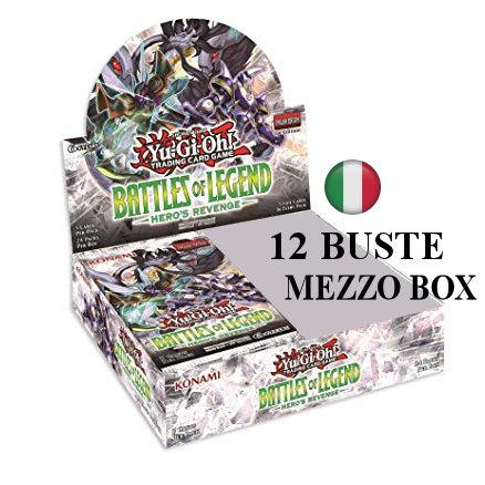 BATTAGLIE DELLA LEGGENDA VENDETTA DELL'EROE - MEZZO BOX 12 BUSTE ITA