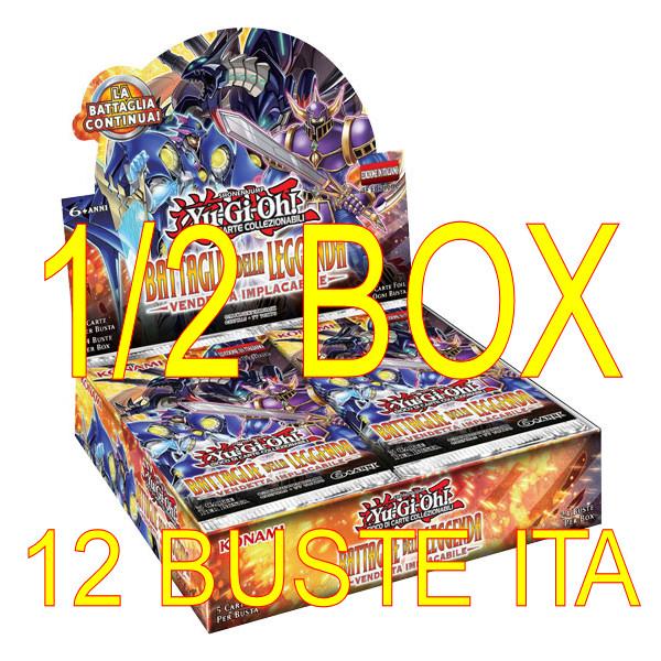 BATTAGLIE DELLA LEGGENDA - VENDETTA IMPLACABILE - MEZZO BOX 12 BUSTE ITA