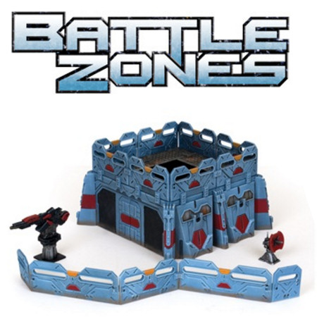 BATTLEZONES - FORTIFIED  DISTRICT