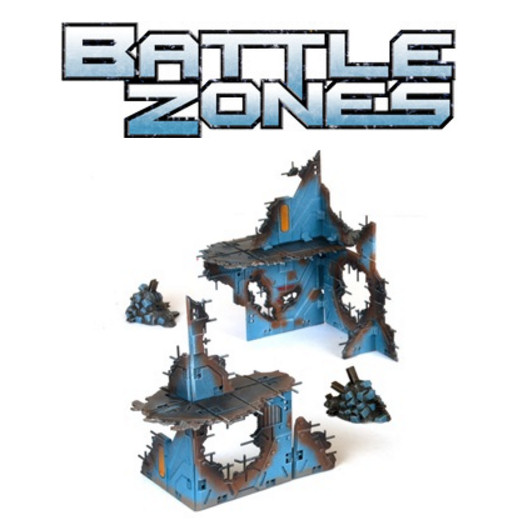BATTLEZONES - RUINED OUTPOST KIT