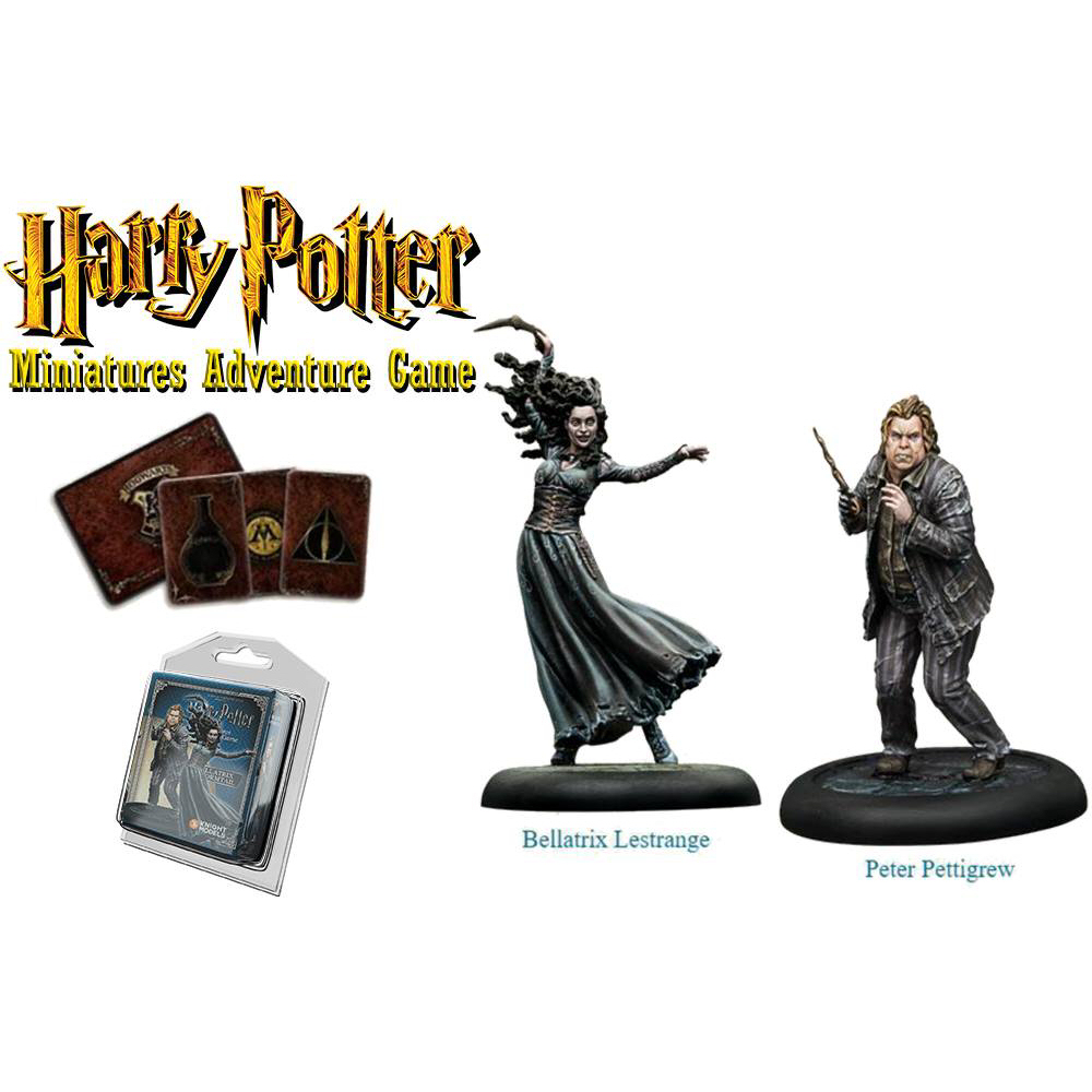 HP BELLATRIX & WORMTAIL MINIATURE ADVENTURE GAME