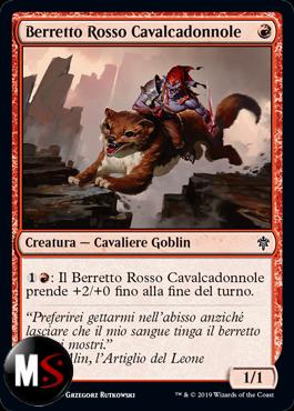 BERRETTO ROSSO CAVALCADONNOLE