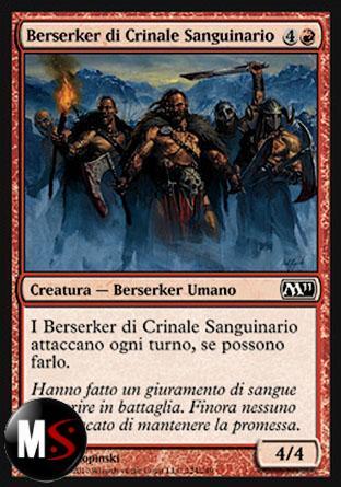 BERSERKER DI CRINALE SANGUINARIO