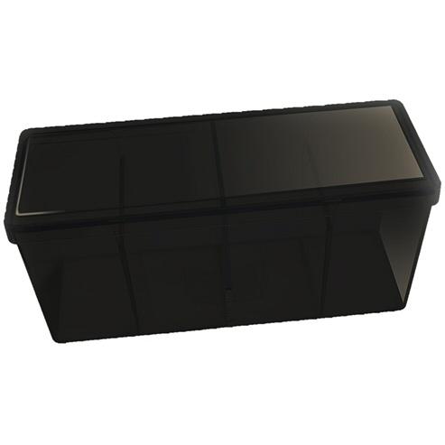 BOX 4 SPAZI - BLACK (PER CONTENERE 320+ CARTE CON RELATIVE SLEEVES)